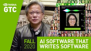 "GPU Technology Conference Keynote Oct 2020 | Part 4: ""AI: Software that Writes Software"""