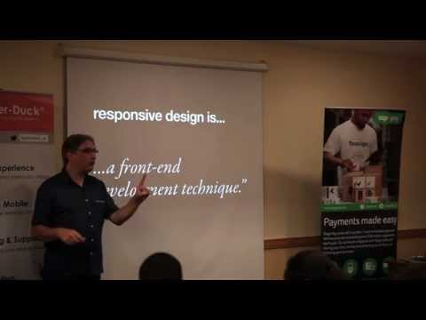 Jeremy Keith @ The Digital Pond - Responsive Design