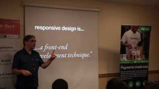 Jeremy Keith @ The Digital Pond - Responsive Design