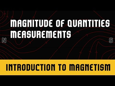 Physics IIT JEE | Magnetism | Measurement and Experimentation | Magnitude of Quantities