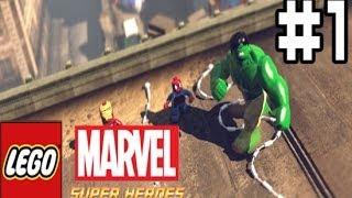 LEGO Marvel Super Heroes - прохождение. Серия #1.