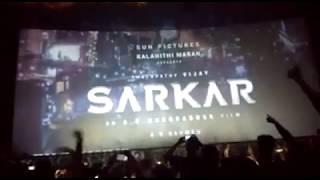 SARKAR FIRST LOOK IN THEATER RESPONSE