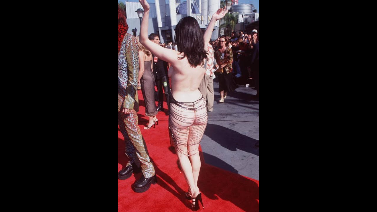 Naked celebrities  on Red carpet