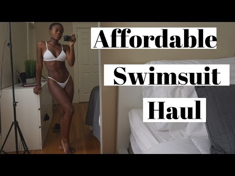 AFFORDABLE SWIMSUIT HAUL L Aerie, Forever 21, Walmart & Ebay Swimsuits