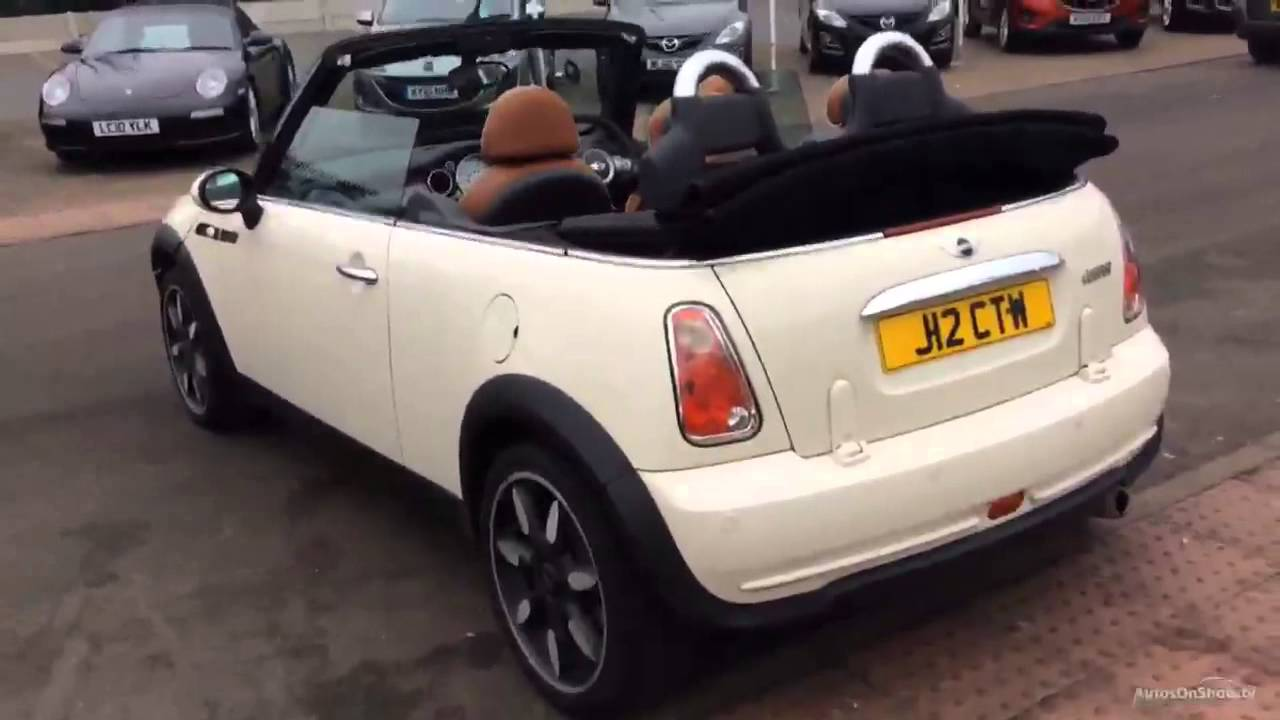 2008 Mini Convertible Cooper Sidewalk