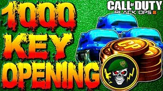 BLACK OPS 3 1000+ CRYPTOKEY SUPPLY DROP OPENING REACTION! CALL OF DUTY BLACK OPS 3 NEW DLC WEAPONS