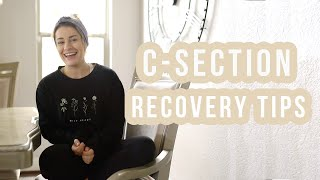 Scheduled C-Section Experience & Recovery Tips