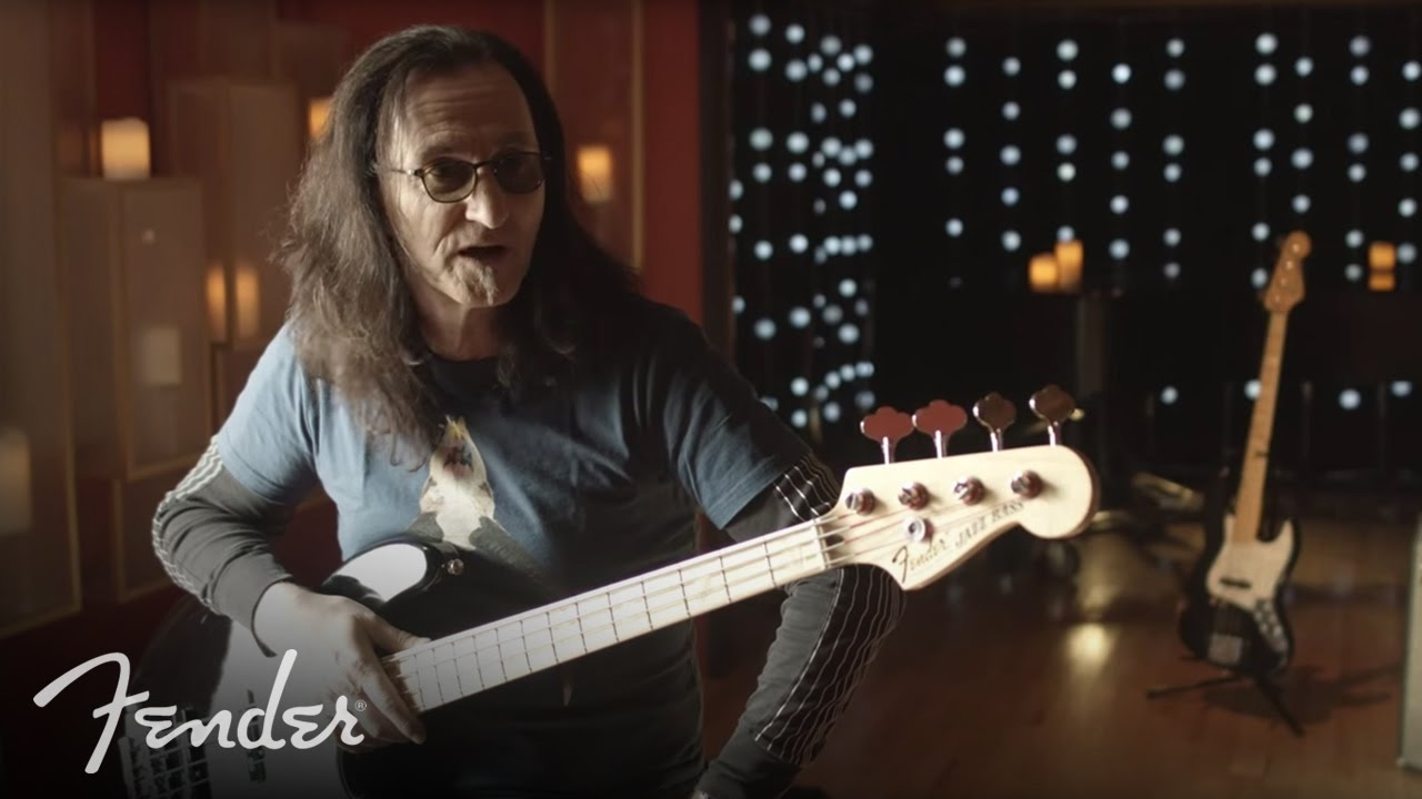 rush 39 s geddy lee on his fender usa geddy lee jazz bass fender youtube. Black Bedroom Furniture Sets. Home Design Ideas