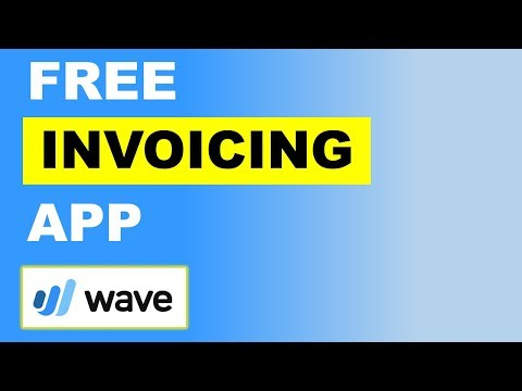 Wave App Review - Free Invoicing App Wave!!