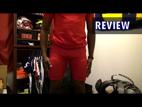 Nike compression padded football shorts review  ebe210a1b