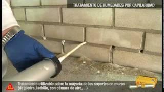 Impermeabilización con SikaMur InyectoCream-100 - Sika España
