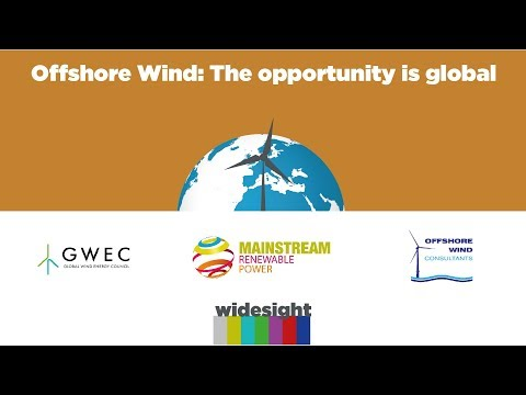 Offshore Wind:  The opportunity is global.