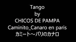 Tango  Caminito~Canaro en paris(カミート~パリのカナロ)