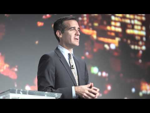 Vision Talk: Eric Garcetti - How Can Mayors Positively Influence the World? (Visioneering 2014)