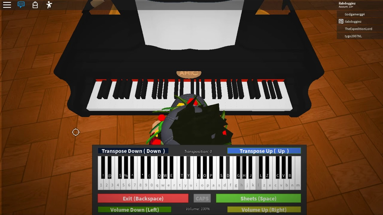 Roblox Piano Melanie Martinez Drama Club Youtube
