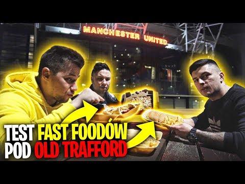 Testowaliśmy Fast FOOD pod OLD TRAFFORD (Manchester) *pyszne*