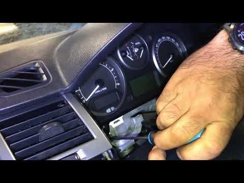 Range Rover Sport 2007 Instrument Cluster Removal