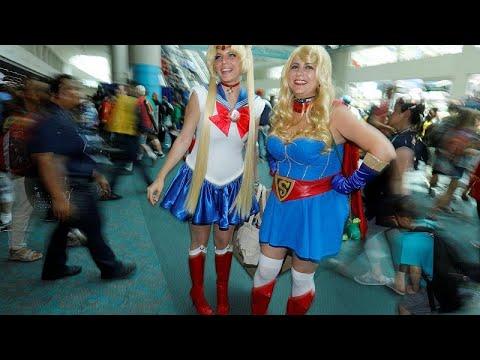 euronews (en français): Le Comic-Con, le rendez-vous favori des geeks