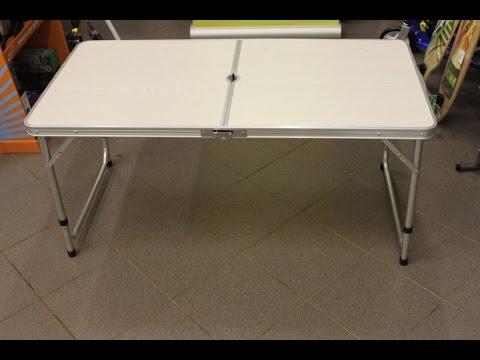 Стол складной алюминиевый WoodLand Family Table Luxe