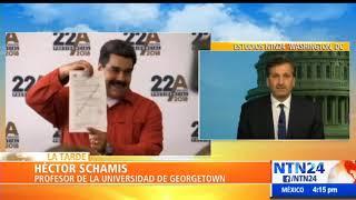 """""""En Centroamérica se ha formado un consenso detrás de Guaidó, contra Maduro"""": Héctor Schamis"""
