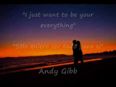 Andy Gibb - I just want to be your everything (En vivo)