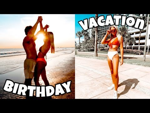 BIRTHDAY VACATION + weekend in my life vlog thumbnail