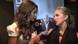 LAYLA FLAHERTY INTERVIEWS AISLEYNE FOR iFILM LONDON / MY FIGHT WITH LIFE - BOOK LAUNCH