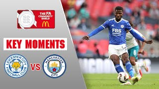 Leicester City vs Manchester City Key Moments Community Shield 2021