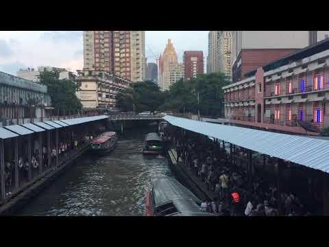 Bangkok canal boat ride, February 2019