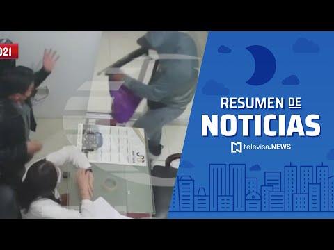 Grupo armado asalta gasera en Puebla, resumen de noticias