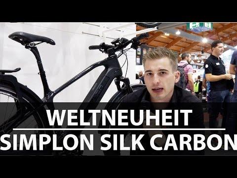 Schönstes Pedelec 2018 - entdeckt auf der Messe Eurobike - Das SIMPLON Silk Carbon