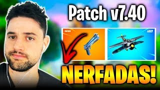 Fortnite-Patch 7.40 Eagle and Aviao NERFADOS!