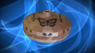 Pyrography On Segmented Turning - An Introduction