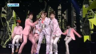 INFINITE [Pria jatuh cinta] @ SBS Inkigayo Lagu populer 20130407