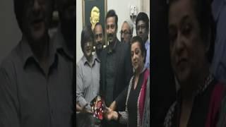 ایم کیو ایم پاکستان کی جانب سے کراچی یونین آف جرنلسٹس کے نو منتخب عہدیدران کو
