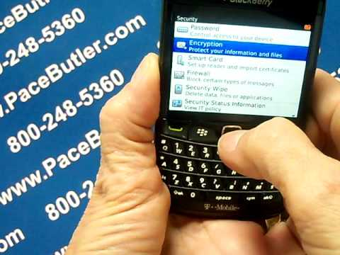Blackberry Bold 9780 - Erase Cell Phone Info - Delete Data - Master Clear Hard Reset