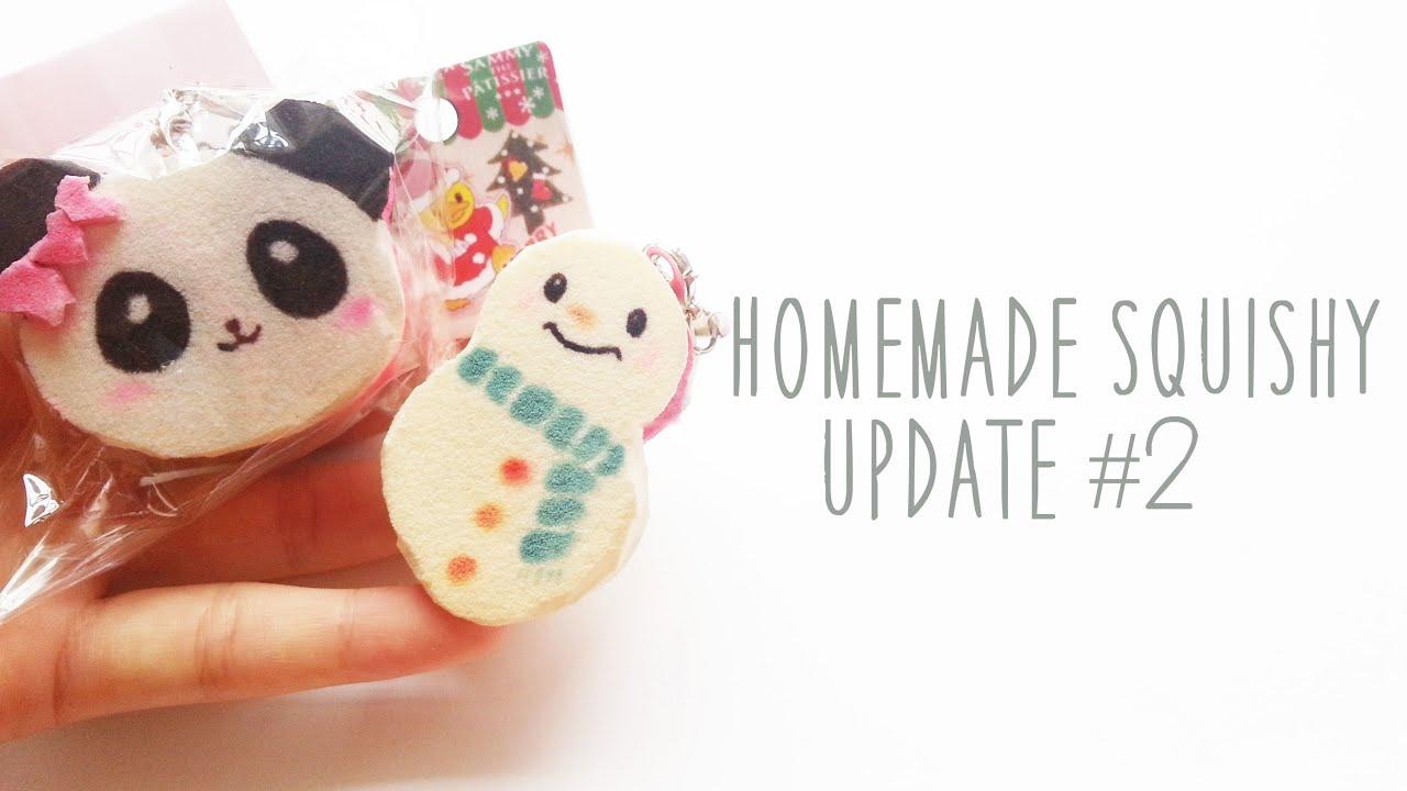 Homemade squishy update #2   - YouTube
