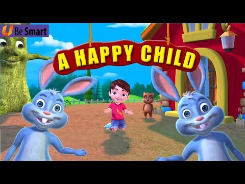 Unit 1 A Happy Child | Class 1 English | NCERT/CBSE | From Kids Be Smart Eguides