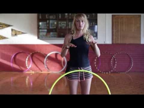 Hula Hoop Tutorial: FLOW & DANCE : Beginner / Intermediate Hooping Tricks