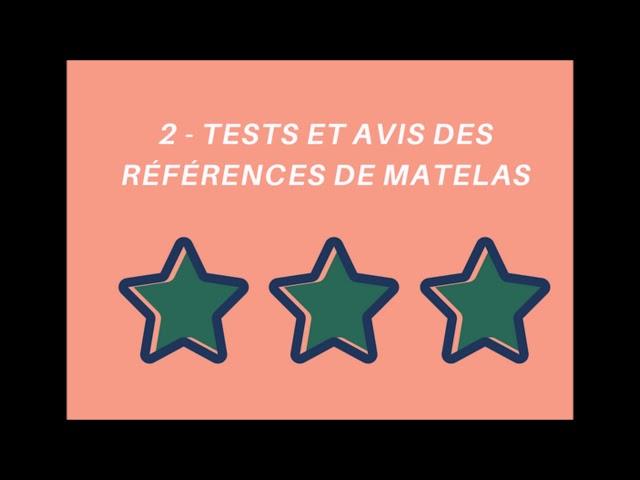 Classement Comparatif Du Meilleur Matelas Universel 2018