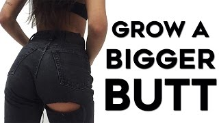 How To Get A Bigger Butt (GLUTE GAINS) | 4 Workouts To Grow and Sculpt The Perfect Booty!