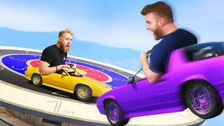 DEMOLITION CAR DARTS CHALLENGE! | GTA5