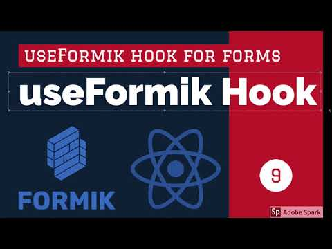 React Formik Using useFormik Hook #11