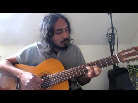 Namukku Paarkan BGM Fingerstyle Guitar Chord Melody (johnson) - Eminor Melody+Chords