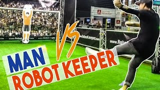 MAN vs ROBOT KEEPER - Séan Garnier