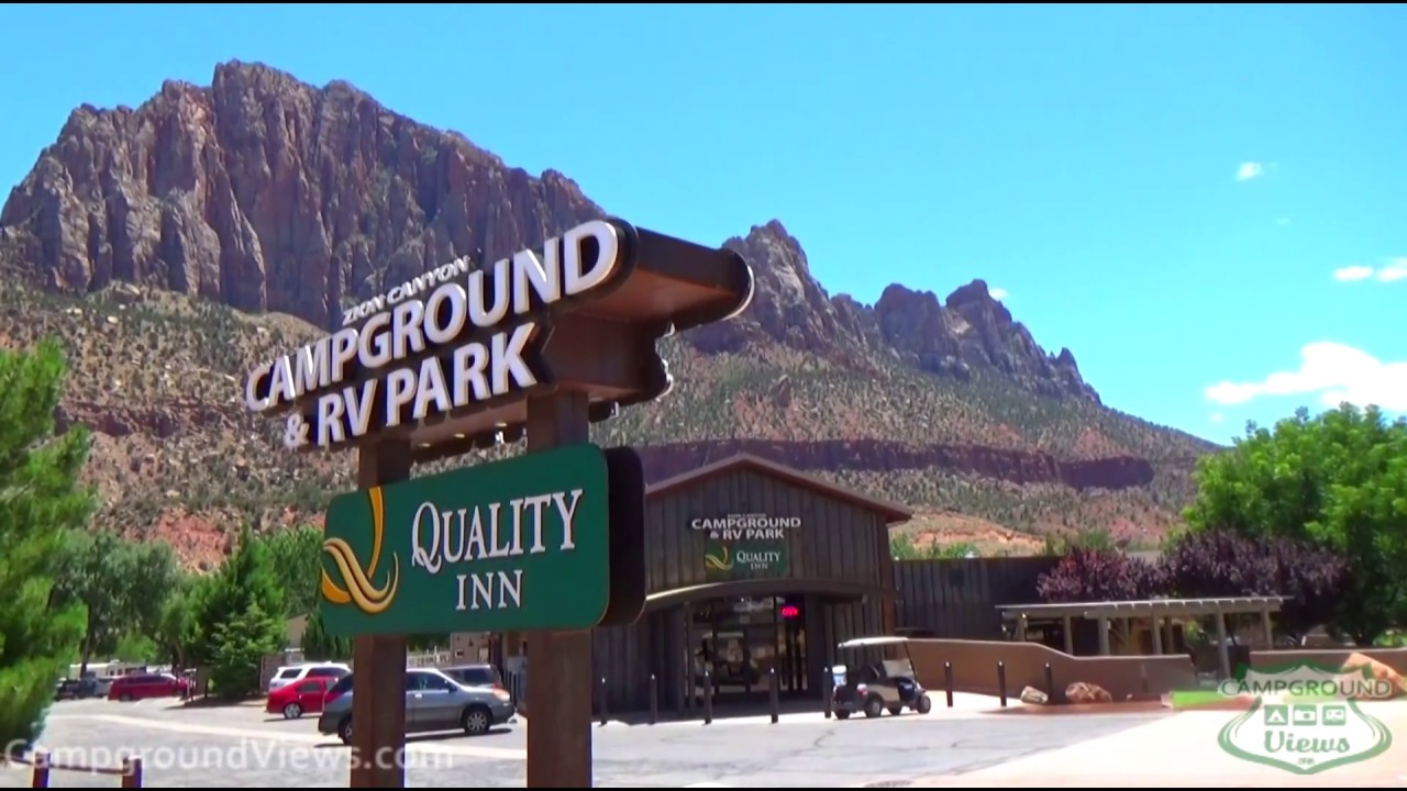 Zion Canyon Campground And RV Park Springdale Utah UT
