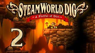 SteamWorld Dig - Прохождение игры на русском [#2] | PC / Видео