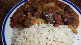 Jamaican Stew Peas with Corned BeefStew Peas RecipeJamaican CookingCally J&#39s Kitchen