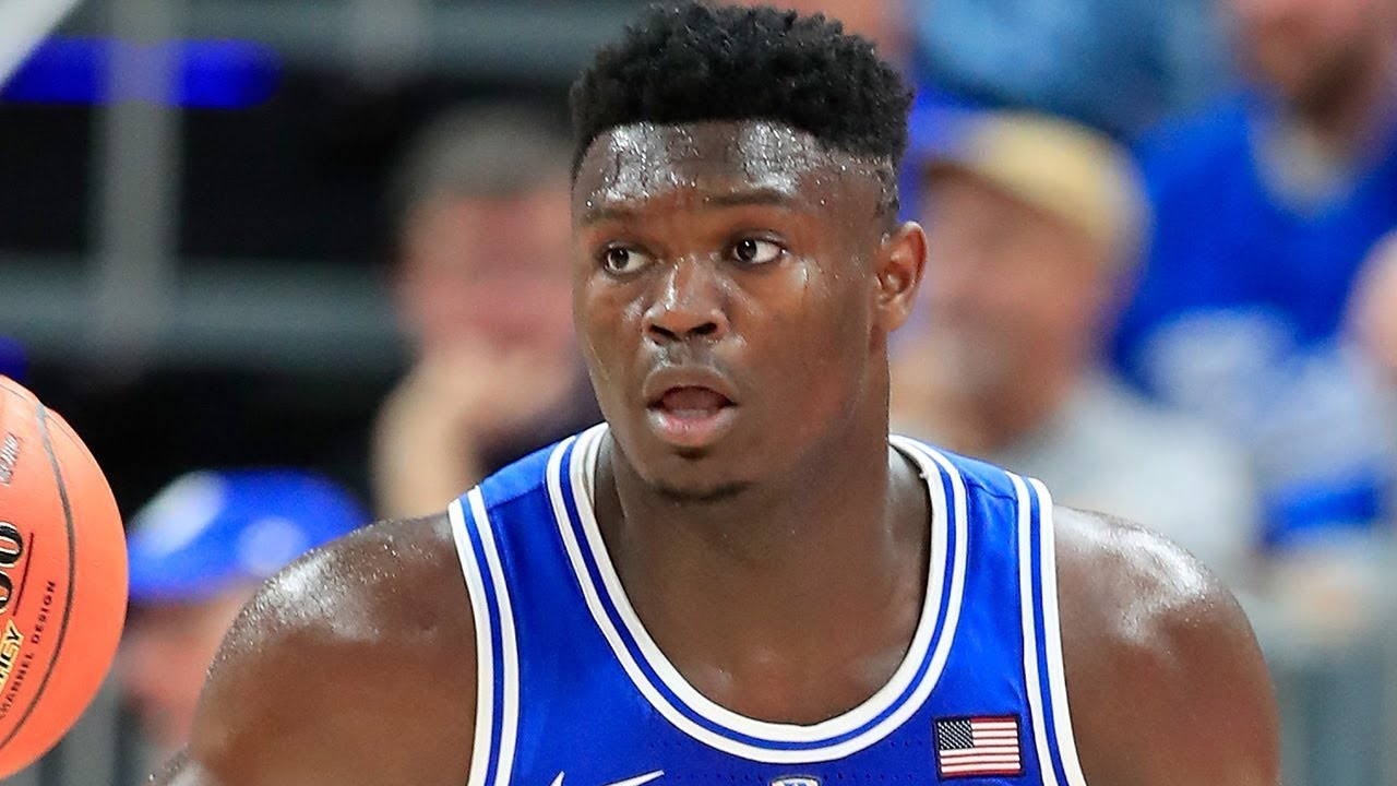 Zion Williamson Shoe Deal Almost Done As He Shows Up Practicing In New Sneaks