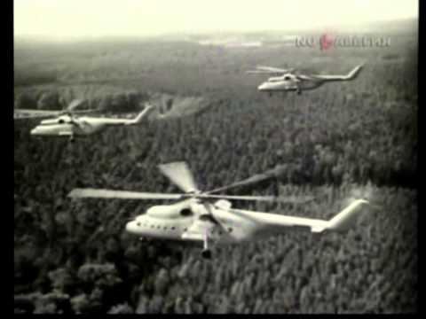 Mil Mi-6 & Mi-10 Soviet heavy transport helicopters